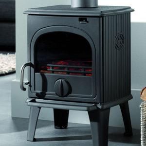 Fonte-flamme-cheminees-jouvin-poele-a-bois-design-rustique-44MF-laque-anthracite