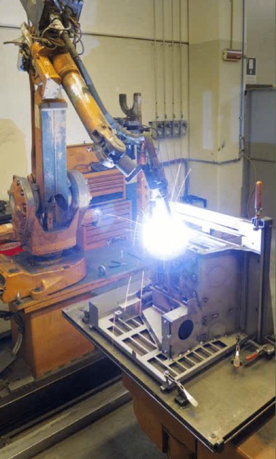 robotisation de la production des poêles à granulés MCZ