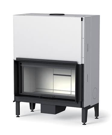 Cheminee MCZ plasma 95 porte relevable