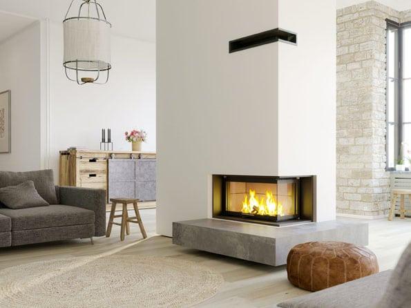 Foyer cheminée LORFLAM LORFLAM-VS101 Lateral (2)