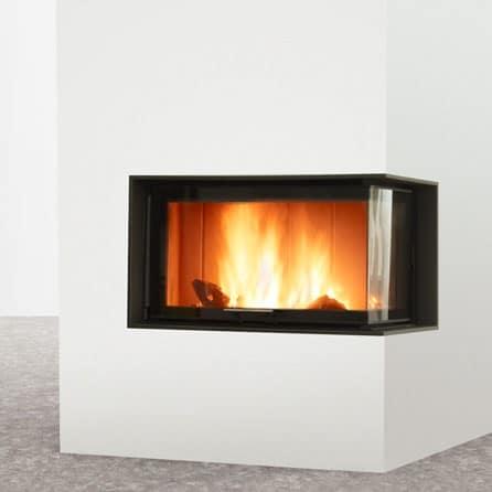 Foyer cheminée LORFLAM LORFLAM-VS101 Lateral (3)