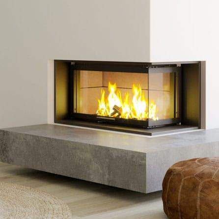 Foyer cheminée LORFLAM LORFLAM-VS101 Lateral