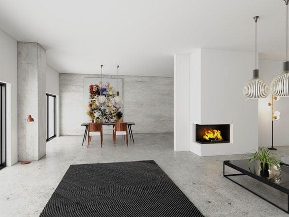 Foyer cheminée Totem Technika Lateral 1000 (6)