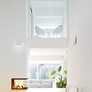 Foyer cheminée plasma 50 T 3 faces MCZ