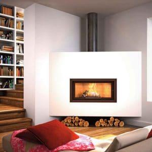 Foyer cheminée totem technika horizon 1000
