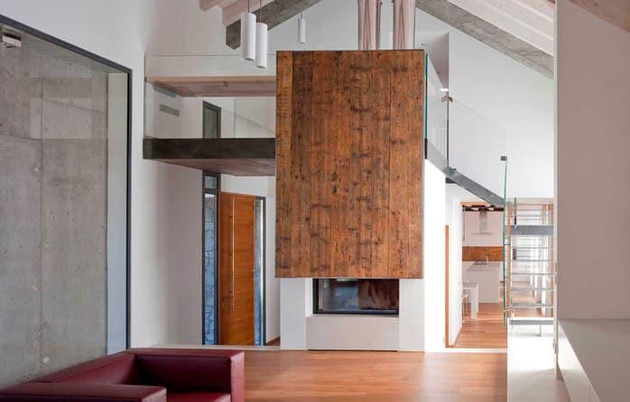 Habillage céramique cheminee foyer MCZ Plasma 115-2