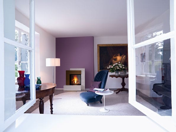 Insert cheminée foyer bois MCZ Vivo 70 design moderne cheminées jouvin à Vitré