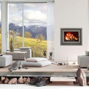 LORFLAM-foyer-bois-EASY68-look moderne contemporain rennes