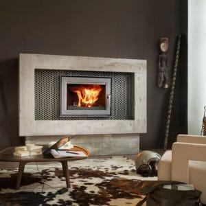 LORFLAM-foyer cheminée bois -EASY75-cheminées jouvin vitré 35