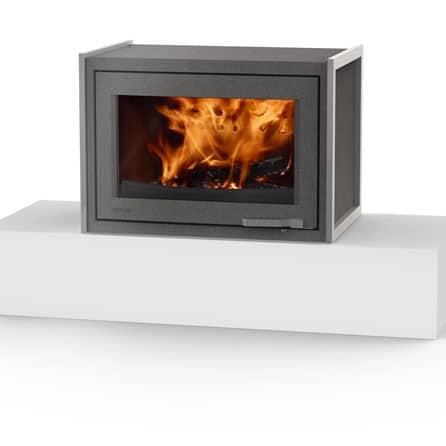 LORFLAM-poele-cheminee-bois-XP78-BOX-Graphite-Pieds-cheminees-jouvin-vitré-35