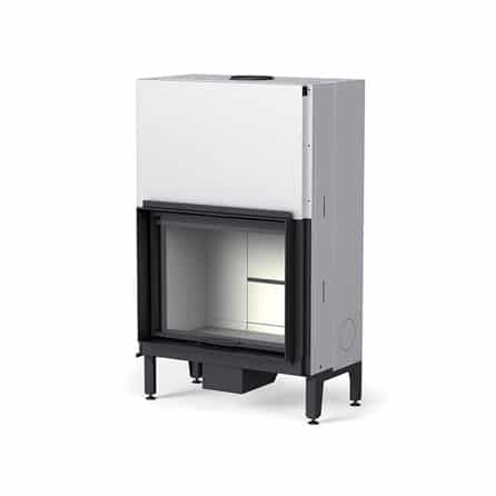 cheminee foyer bois MCZ Plasma 85 WOOD porte relevable