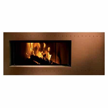 habillage De Chirico pour cheminée foyer MCZ 2
