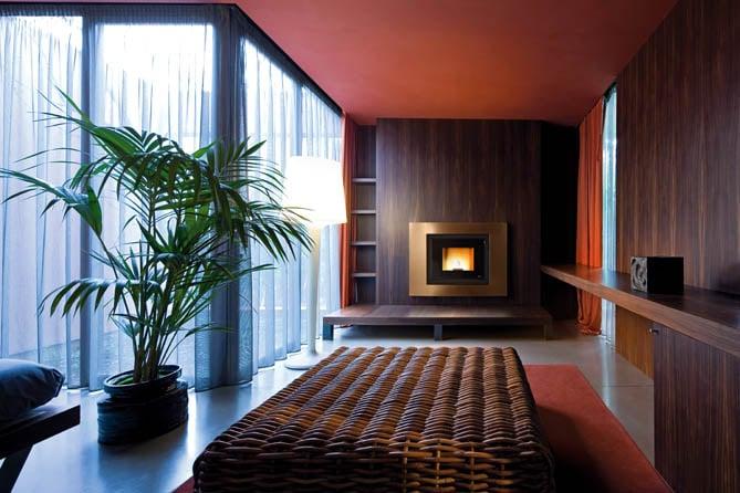 habillage Frame pour cheminée foyer MCZ 2