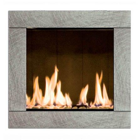 habillage Natural pour cheminée foyer MCZ 2